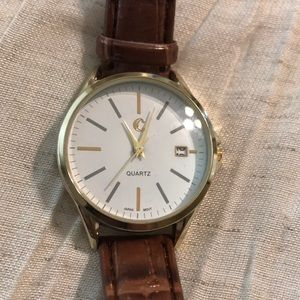 Charming Charlie faux leather watch